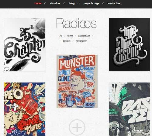 Radioos - Responsive WordPress Theme