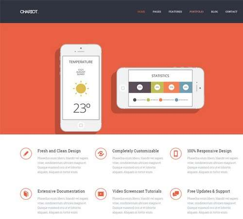 Chariot Professional WP Theme