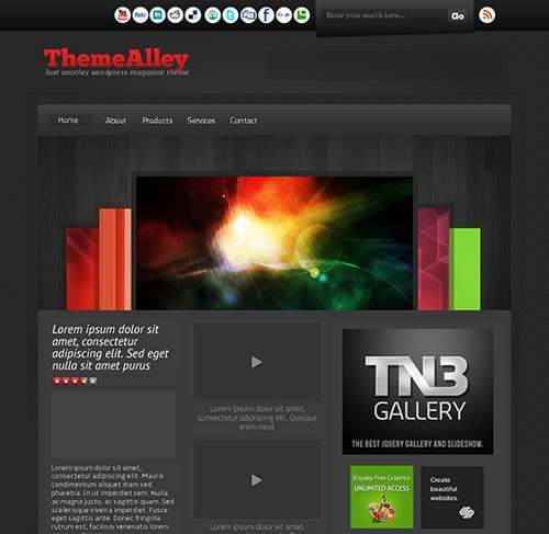 Destro Free WordPress Theme