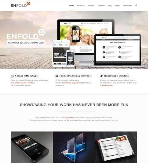 Enfold Business WordPress Template