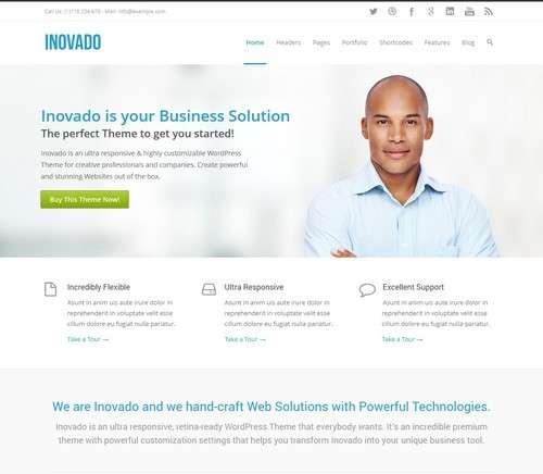 Inovado Clean Responsive Theme