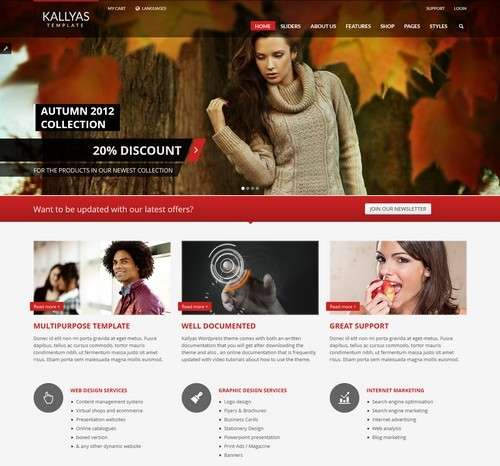 Kallyas Multi Purpose WP Template