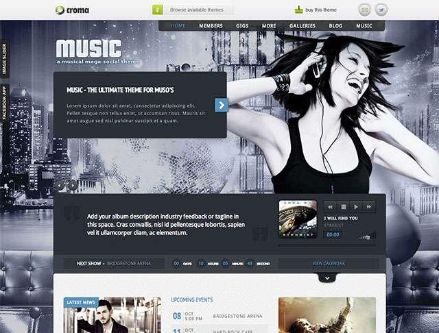 Music-theme