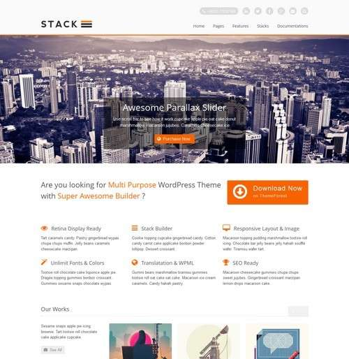 Stack Business WP Theme