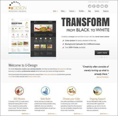Udesign WP Business Theme