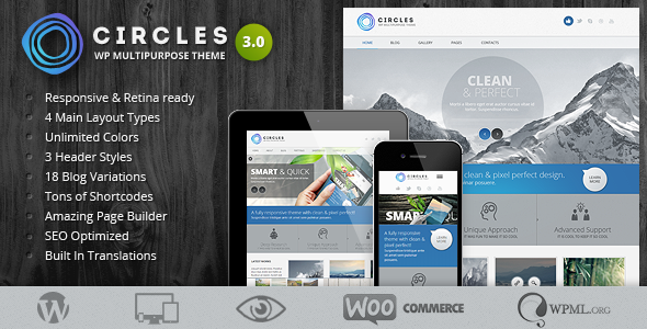 Circles WordPress Theme
