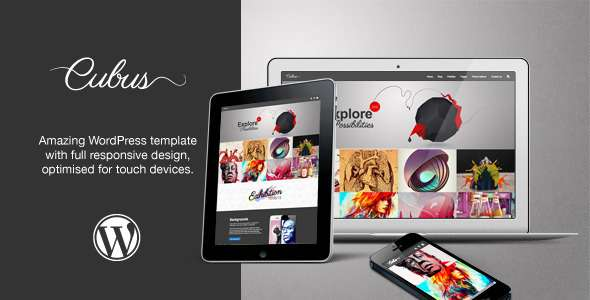 Cubus WordPress Theme