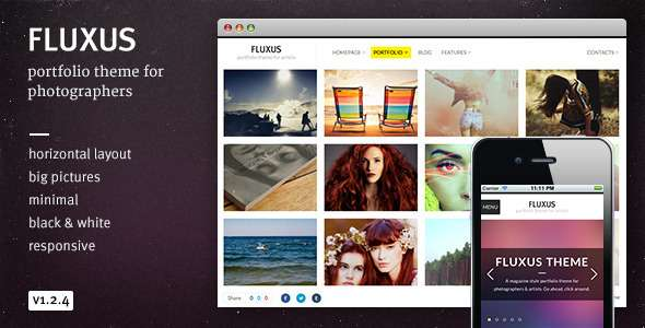 Fluxus WordPress Theme