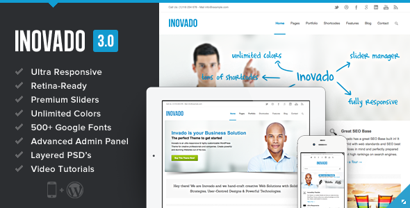 Inovado WordPress Theme