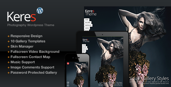 Keres WordPress Theme