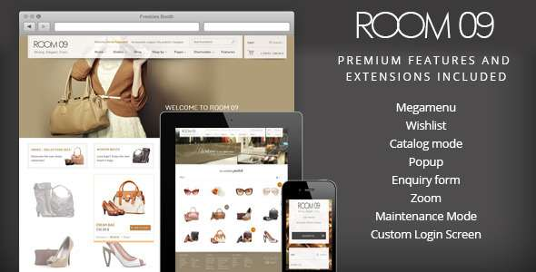 Room 09 WordPress Theme