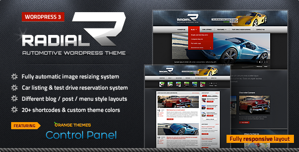 Radial - Premium Automotive & Tech WordPress Theme - Technology WordPress