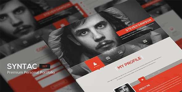 Syntac -Wordpress Premium Personal Portfolio - Portfolio Creative