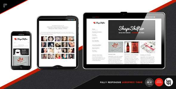 ShapeShifter 2 : Responsive, Flexible, One Page - Creative WordPress