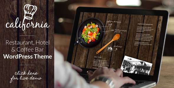 California - Restaurant Hotel Bar WordPress Theme - Creative WordPress
