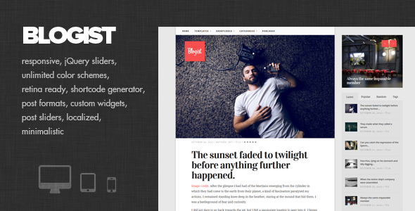 Best Premium WordPress Themes 2014 : Freakify.com
