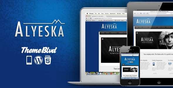 Alyeska Responsive WordPress Theme - Business Corporate
