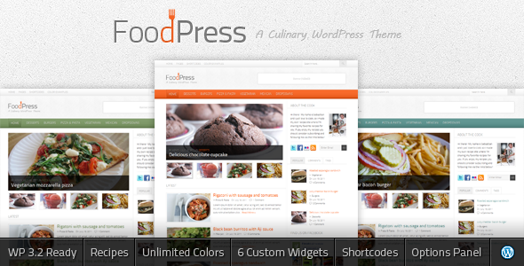 FoodPress - A Recipe & Food Blog WordPress Theme - Food Retail