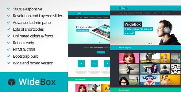 WideBox - Responsive Multi-Purpose Theme - Corporate WordPress