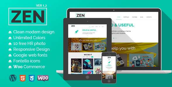 ZEN | Creative Multipurpose WordPress Theme - Creative WordPress