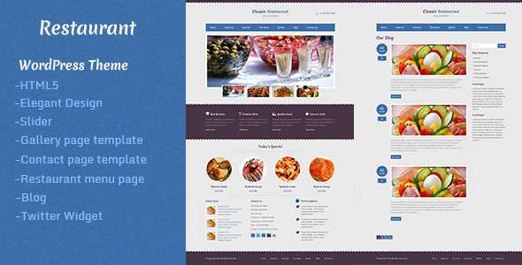 Restaurant - Retail WordPress