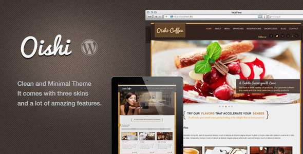 Oishi WordPress Theme - Food Retail