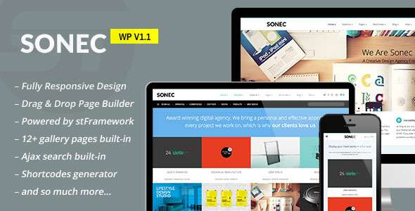 Sonec - Business, Portfolio and Photography Theme - Portfolio Creative
