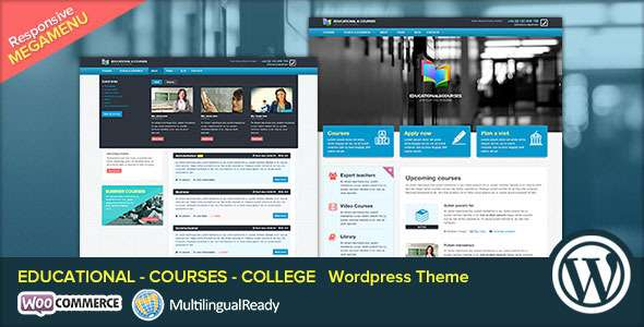 EDU - Educational, Courses, College WP Theme - Business Corporate