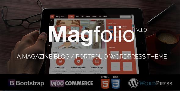 Magfolio - WP WooCommerce Portfolio Blog Theme - WooCommerce eCommerce