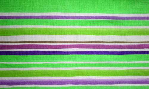 Attractively Glowing Striped Fabric Texture