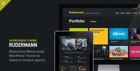 Rudermann - Responsive Retina Ready Theme - Portfolio Creative