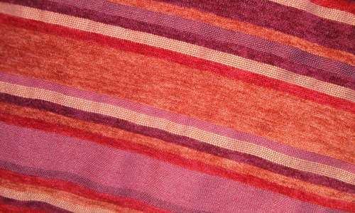 Comforting Striped Fabric Texture