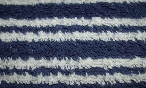Soft and Warm Striped Fabric Texture