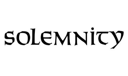 Solemnity font
