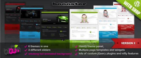 Boooster - business wordpress theme - Corporate WordPress