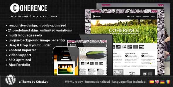 Coherence Responsive Business & Portfolio - Business Corporate