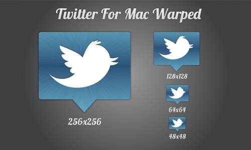 Twitter For Mac Warped