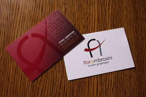 Flora Ambrosini Business Card
