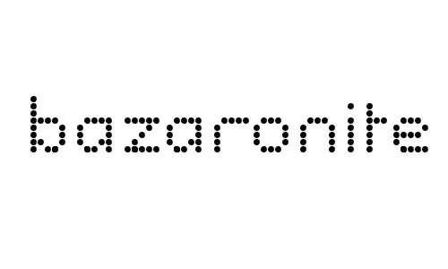 bazaronite font