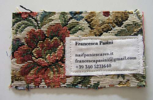 Business Card for: Francesca Pasini