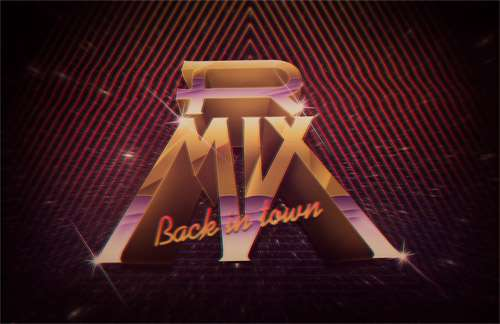 RMIX cool retro design