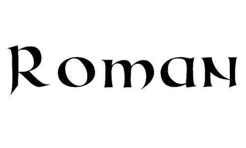 Roman Uncial Modern font