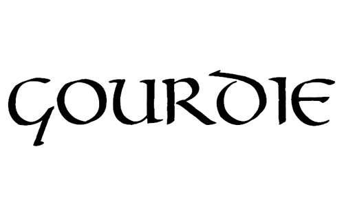 Gourdie Uncial font