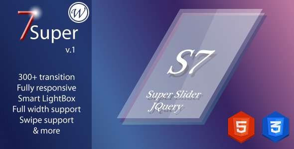 Super 7 - Responsive WordPress Image Slider Plugin - CodeCanyon Item for Sale