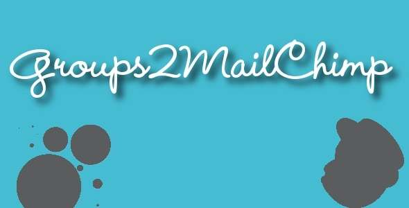 Groups2Mailchimp - Groups Mailchimp Integration - CodeCanyon Item for Sale