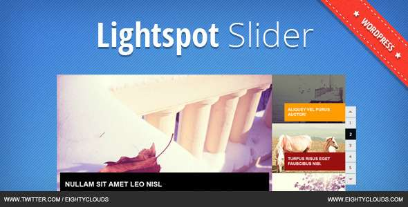 Lightspot Slider - CodeCanyon Item for Sale