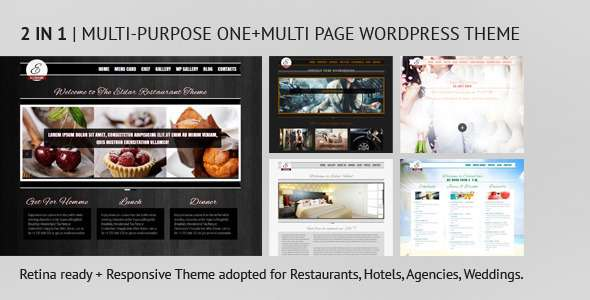 Eldar - Responsive and Retina Multi-Purpose Theme - Food Retail