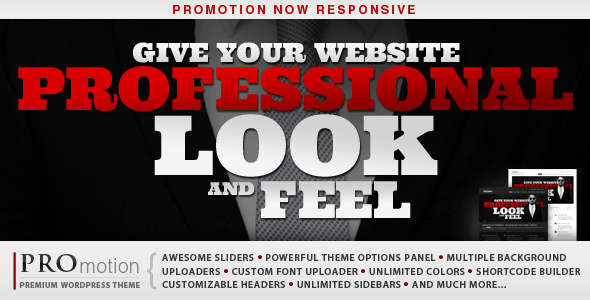 ProMotion Responsive WordPress Theme - Business Corporate