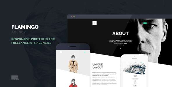Flamingo - Agency & Freelance Portfolio Theme - Creative WordPress