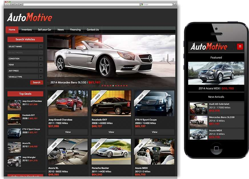 WordPress Automotive